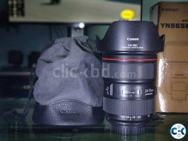 Canon 24 - 70 mm F 2.8 | ClickBD large image 0