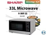 Sharp R-369T S Microwave Oven