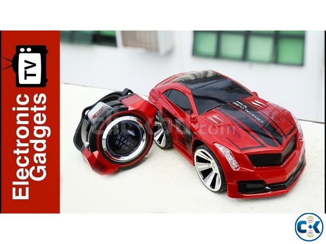 Voice Command Car by Smart Watch Control Racing Toy Car | ClickBD large image 0