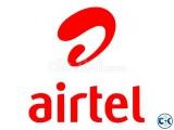 Airtel VIP SIM Platinum Number New