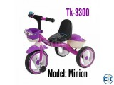 Brand New Tricycle with Wheel Lighting.