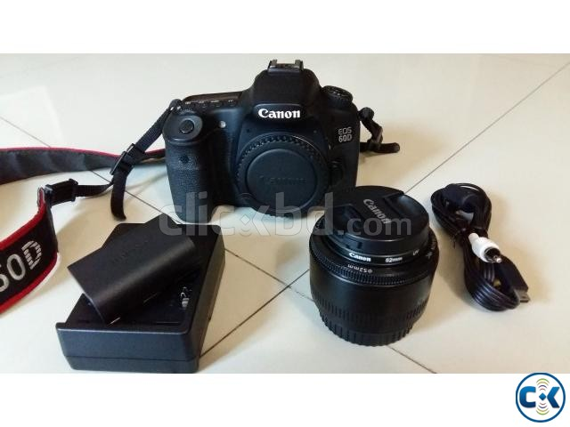 Canon 60D Original with Package Voucher Bag Extra Battery | ClickBD large image 3