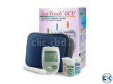 Easy Touch Blood Glucose Cholesterol Uric Acid Test Meter