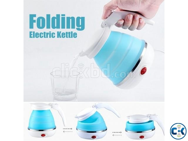 Electric Kettle Foldable Portable Travel Camping Picnic | ClickBD large image 1