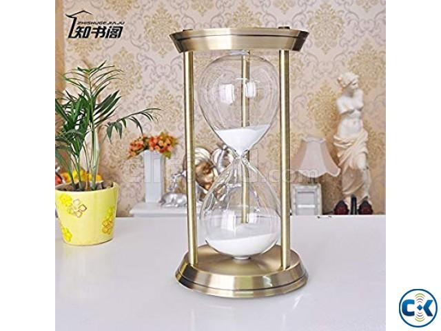 30 Minute Sand Timer Metal Hour Glass | ClickBD
