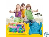 Kids Educational DIY Model kinetic Magic Play Sand Toy