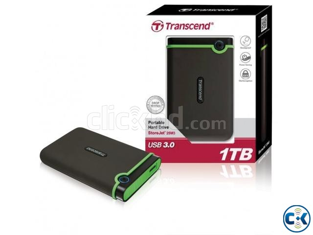 Transcend 1TB External HDD with awesome movie and animation | ClickBD large image 0