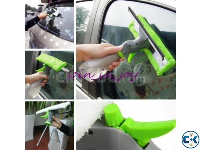 3 in 1 Spray Windows Cleaner Double Side Glass Cleaning | ClickBD large image 1
