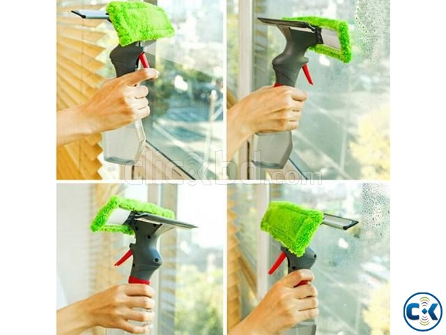 3 in 1 Spray Windows Cleaner Double Side Glass Cleaning | ClickBD large image 4