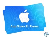 Apple iTunes Gift Card Instant Delivery in Bangladesh