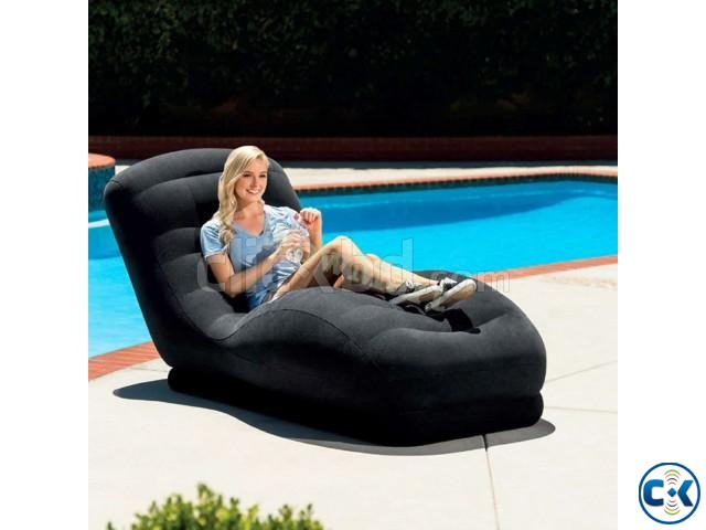 Mega Lounge beach Sofa Indoor Outdoor Pool chair | ClickBD large image 1