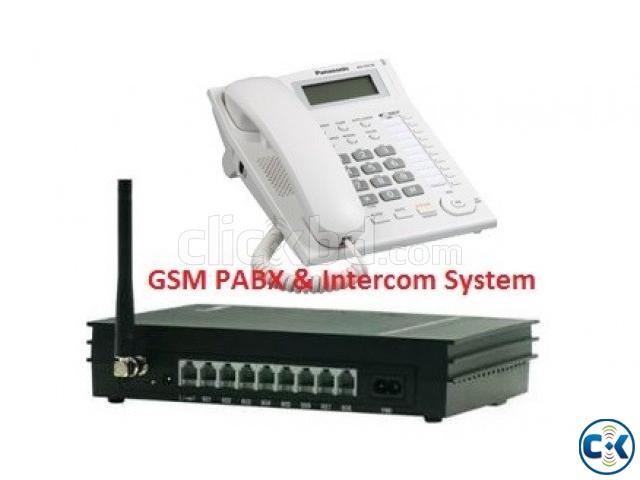 SIM supported PABX Intercom System | ClickBD large image 0