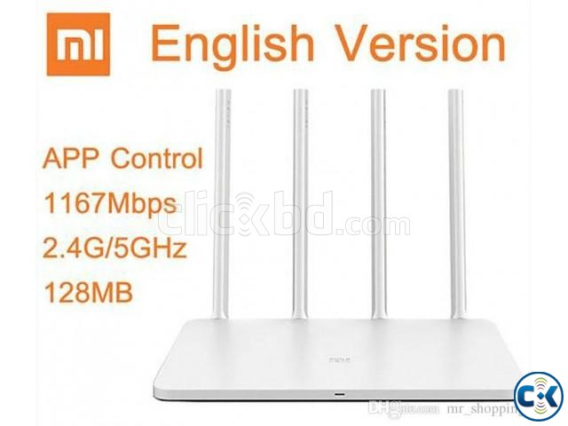 Mi 4C Wireless Router 2.4GHz Original Xiaomi 300Mbps | ClickBD large image 0