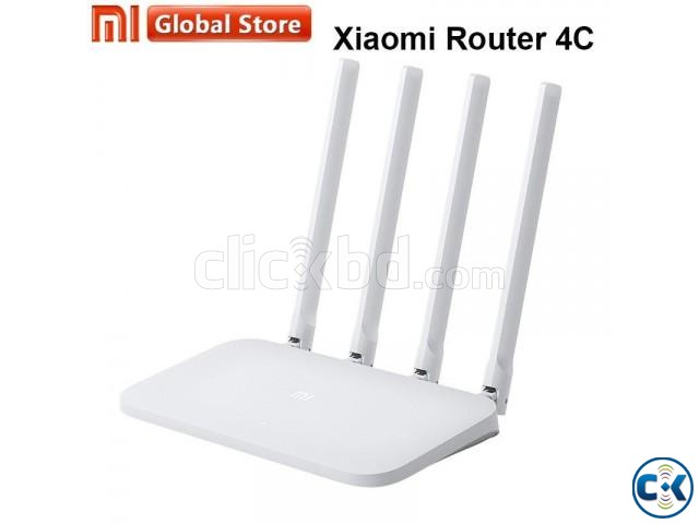 Mi 4C Wireless Router 2.4GHz Original Xiaomi 300Mbps | ClickBD large image 2