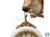 Deer Shape Double Sided Clock wall decorative