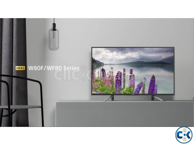 Sony W800F 49 Smart VOICE remote Android TV | ClickBD large image 1