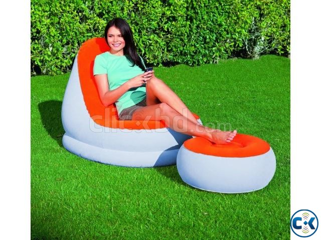 Air Bed Arm chair with sofa | ClickBD large image 0