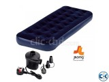 Jilong Single Air Bed With Free Air Pumper