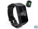 K1 Smart Bracelet Real-time Heart Rate Monitor waterproof