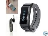 K2 Talk Band Smart watch Bluetooth Bracelet Answer Phone Cal