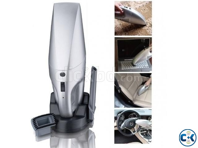 Rechargeable Vacuum Cleaner For Car Furniture Computer | ClickBD large image 0