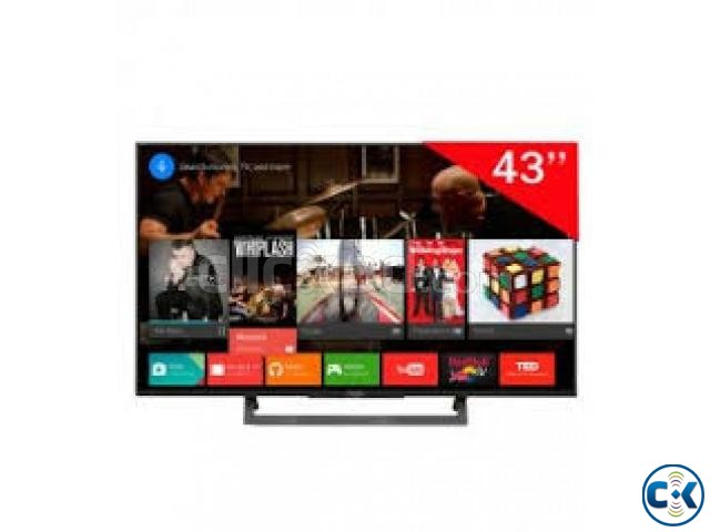 sony 43 Slim 4K Android TV with Voice Control Remote | ClickBD large image 2