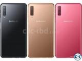 Brand New Samsung Galaxy A7 2018 128GB Sealed Pack 3 Yr Wnty