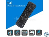 Fly air mouse mini keyboard t6 wireless air mouse