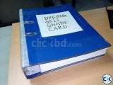 Textile Dyeing color recipe Book
