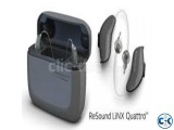 Resound linx quattro 967 hearing aid 12 Channel Rechargable