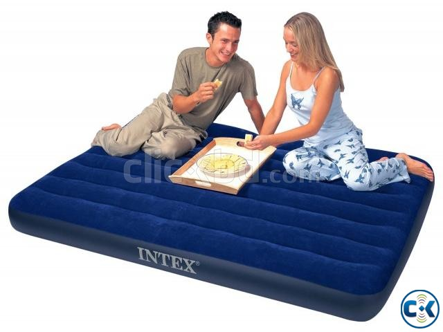 intex Double Air Bed With Electric Pummer Free | ClickBD large image 3