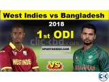 BD vs WI 2nd ODI