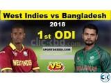BD vs WI 2nd ODI