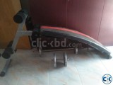 Evertop fitness machine and dunbell for sell