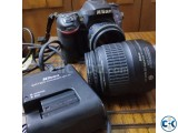 Nikon d7100 with 50mm 1.8D prime lens and 18-55mm vr
