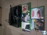 X box one 500gb 1 original controller 5 game DVDs