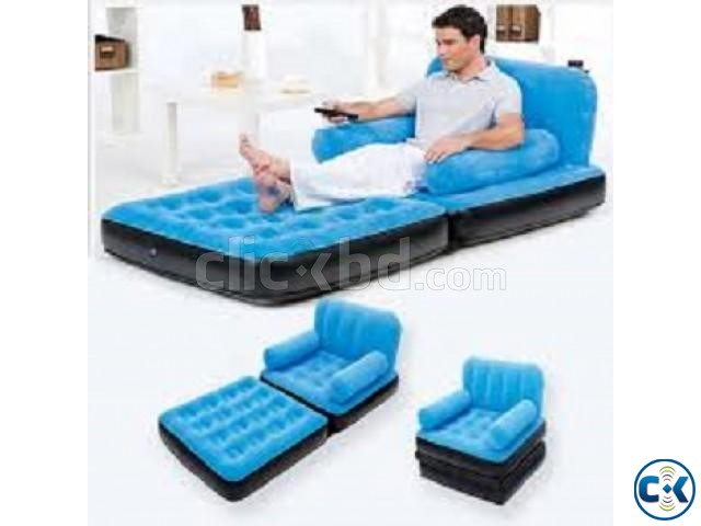 Single Air Sofa With Arm Chair | ClickBD large image 0