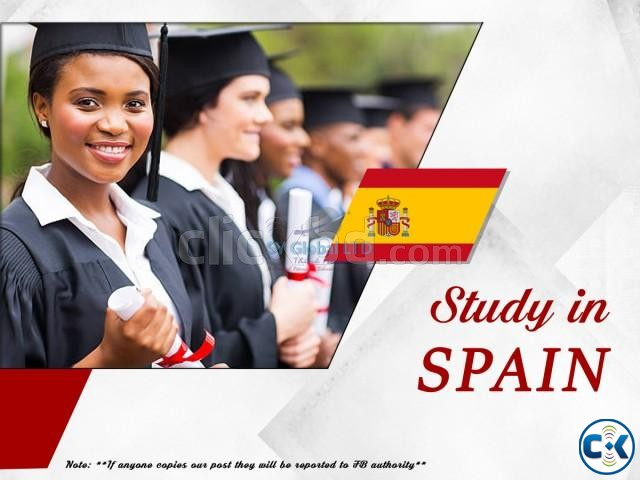 Study in Spain | ClickBD large image 0