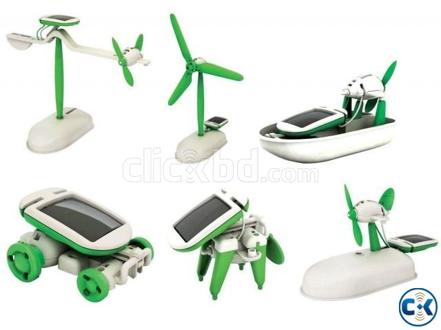 Educational Hybrid Solar Toy Kit-NO BATTERY REQD | ClickBD large image 0