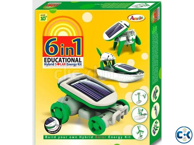 Educational Hybrid Solar Toy Kit-NO BATTERY REQD | ClickBD large image 3