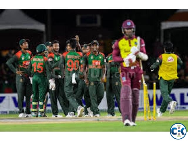 Bangladesh vs west Indies 3rd t20 today | ClickBD large image 0
