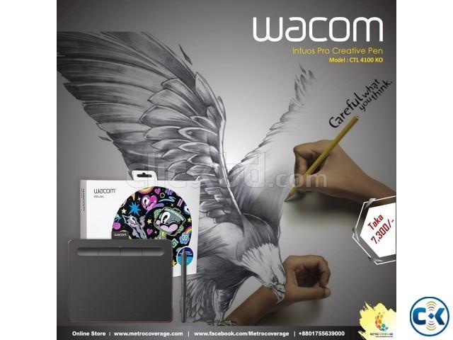 Wacom Intuos pro Creative Pen Model CTL 4100 KO | ClickBD