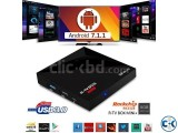 R-TV BOX Android 7.1 USB 3.0 4K Media player