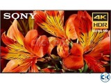 Sony Bravia 85 X9000F Android 4K Smart TV