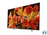 85 inch SONY X8500f 4K LED TV