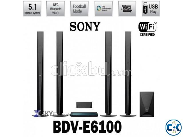 Sony BDV-E6100 3D Blu-Ray Player Home Theater System | ClickBD large image 1