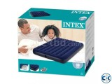 Intex Double Size Airbed Air Bed Air Mattress With Pump