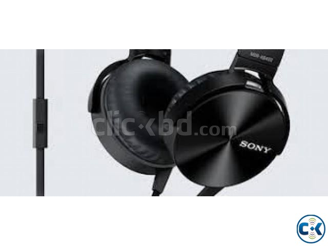 JBL MDR-XB450AP EXTRA BASS HEADPHONE | ClickBD large image 1