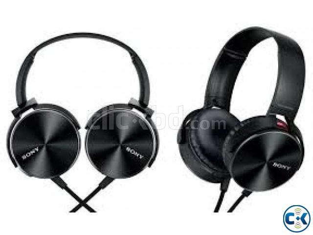 SONY MDR-XB450AP EXTRA BASS HEADPHONE | ClickBD large image 0