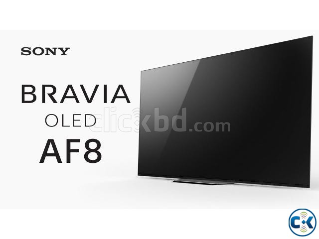 Sony OLED 55 4K Acoustic Android TV A8F | ClickBD large image 0